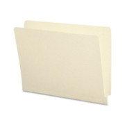 Smead 24113 Manila End Tab File Folders with Antimicrobial Product Protection and Reinforced Tab