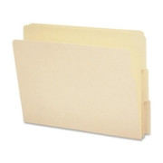 Smead 24134 Manila End Tab File Folders with Reinforced Tab