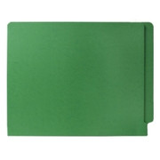 Smead 25110 Green End Tab Colored File Folders with Reinforced Tab