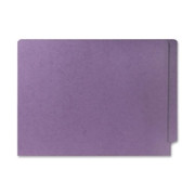 Smead 25410 Lavender End Tab Colored File Folders with Reinforced Tab