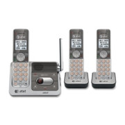 AT&T DECT 1.90 GHz Cordless Phone - Silver, Black