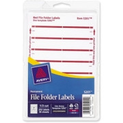 Avery Filing Label - 11