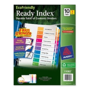 Avery EcoFriendly Ready Index Table Of Contents Divider - 2