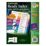 Avery EcoFriendly Ready Index Table Of Contents Divider - 3