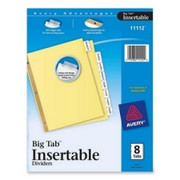 Avery WorkSaver Big Tab Insertable Divider - 3