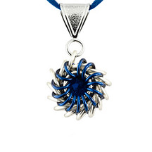 Whirlybird Necklace Kit - Blue