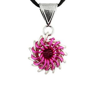 Whirlybird Necklace Kit - Fuchsia