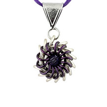 Whirlybird Necklace Kit - Purple