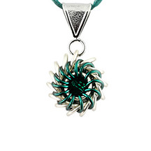 Whirlybird Necklace Kit - Teal