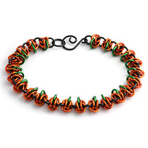 Pumpkin Bracelet Tutorial