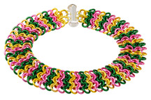 European 4-in-1 chainmaille bracelet kit