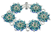 Atlantis Flares Bracelet Kit by Genny Smith