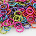 Single Color Twisted Jump Rings