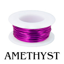24 Gauge Amethyst Enameled Copper Spool