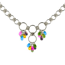 Spring Drops Chain Maille Necklace Kit