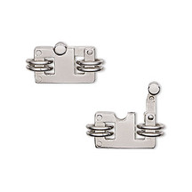 Rectangle Clasp, Stainless Steel