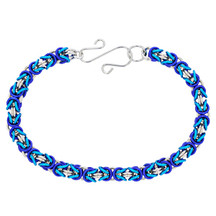 3 Color Byzantine Bracelet Kit - Winter Wonderland