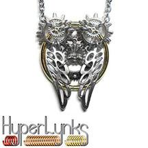 HyperLynks Sprocket Owl Pendant