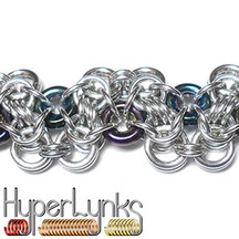 HyperLynks - Waves of Glass Bracelet Kit with Glass Rings