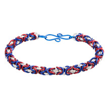 3 Color Anodized Aluminum Byzantine Bracelet Kit - Liberty