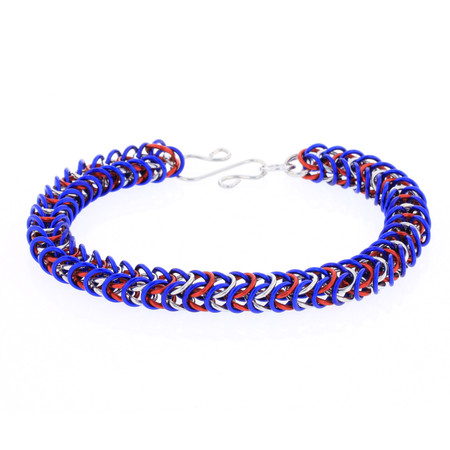 Fizzle - Box Weave Chainmaille Bracelet Kit