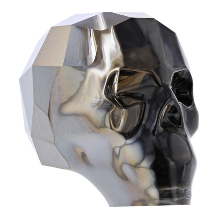 Silver Night 19mm Swarovski® Crystal Skull
