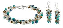 Shaggy Loops Bracelet & Earrings PDF Tutorial
