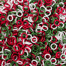 Enameled Copper  It's Christmastime Mix - 20 gauge