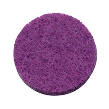 Purple Felt Pad for 30mm Round Aromatherapy Lockets - pk of 8 pads