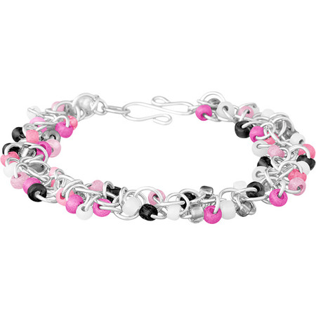 Pink Camo Shaggy Loops Bracelet Kit