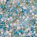 Aqua Mist Seed Bead Mixes - Size 6
