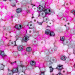 Pink Camo Seed Bead Mixes - Size 6