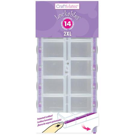 Craft Mates Lockables Organizer 14 Compartmetnts 2XL