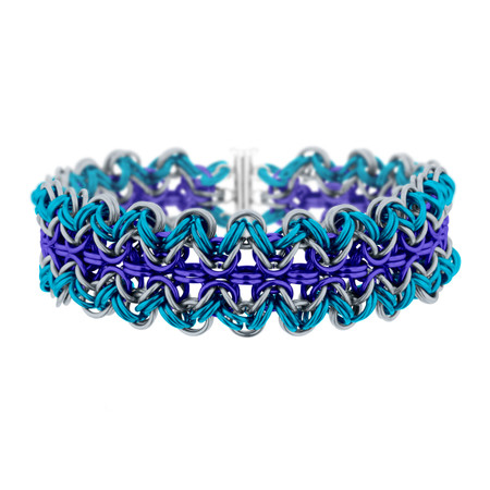 Jazzy Ric-Rac Chainmaille Bracelet Kit