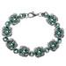 Myrtle Green Swirls Bracelet Kit