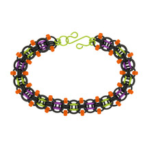 Frankenstein Beaded Helm Chainmaille Bracelet Kit - By Emily Fiks