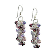 Grape Me Shaggy Loops Earrings Kit