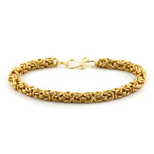 1-Color Byzantine Bracelet Kit - Gold