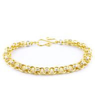 Helm Bracelet Kit - Gold and Silver Filled