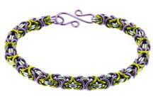 3-Color Byzantine Bracelet Kit - Fields of Heather