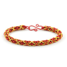 3-Color Enameled Copper Byzantine Bracelet Kit - I'm So Hot