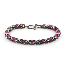3-Color Enameled Copper Byzantine Bracelet Kit - Magic Carpet Ride