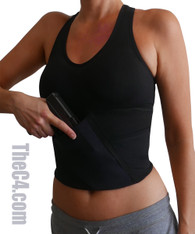 High- Impact Sports Bra Concealed Carry Holster- Bra Sizes 34A- 36D