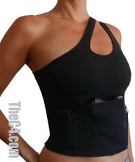 Low Impact Yoga Bra Holster- Bra Sizes 34A- 36DD