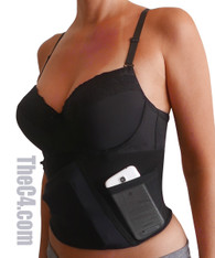 Deep Concealment Daily Bra Holster with Underwire Support- Bra Sizes 36C- 40E