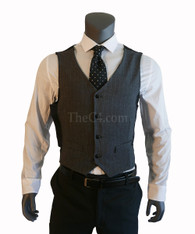 Double Holster Suit Vest