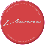 SSR Vienna Reproduction Gel Center Cap Overlay