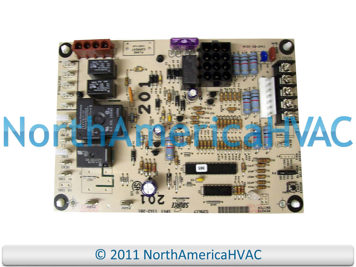 York Luxaire Coleman Furnace Control Circuit Board 031 01267 001 Diamond 80 Fan Wiring 001a