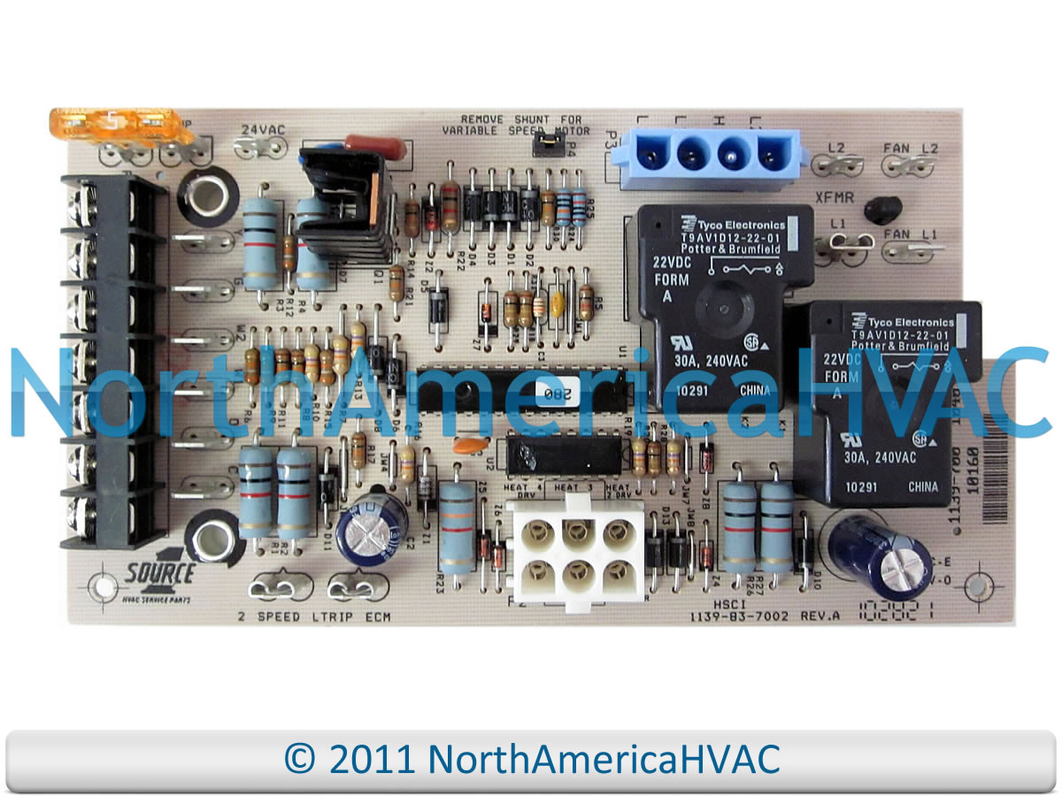 York Luxaire Cman Furnace Control Board 031-01264-001