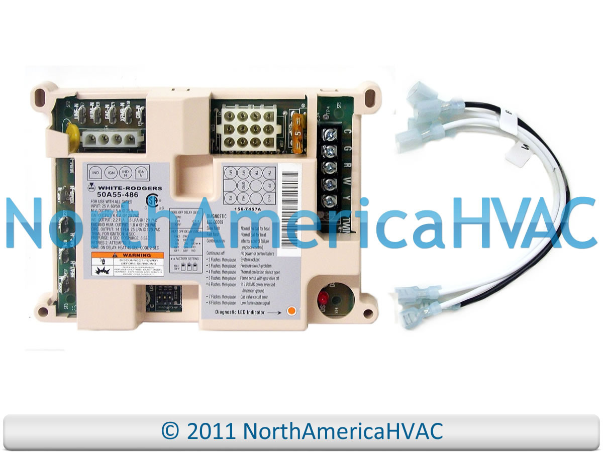 Trane Furnace Control Circuit Board Cnt01848 Cnt1848 North America Main Honeywell Rheem Ruud Heat